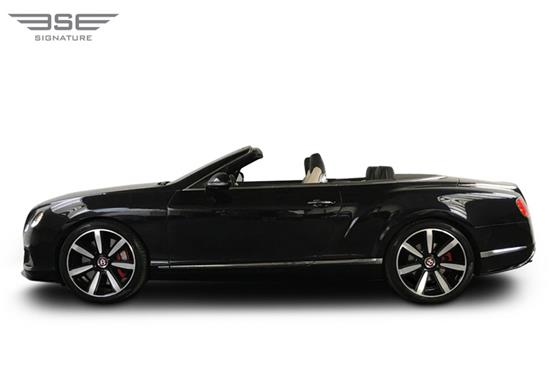 Bentley GTC Roof Down View
