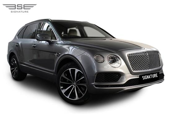 Bentley Bentayga Right Front View