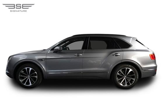 Bentley Bentayga Left View
