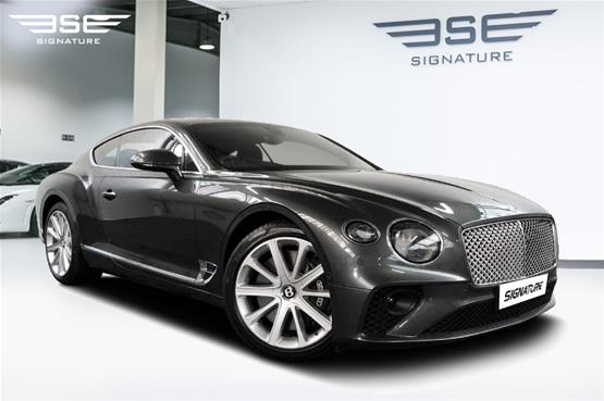 Bentley Continental GT W12 Right Front View