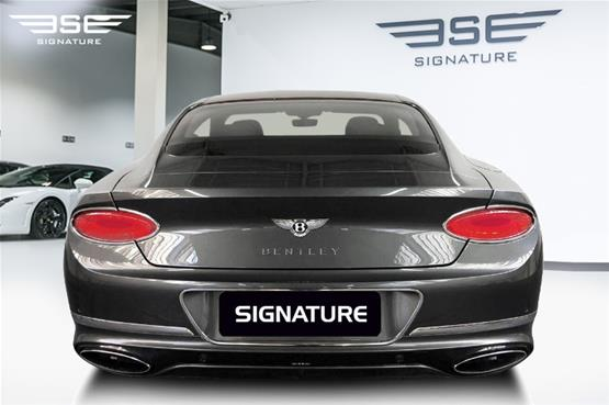 Bentley Continental GT W12 Rear View