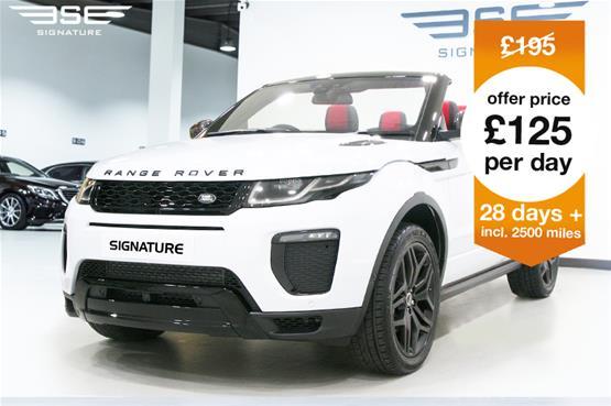 EVOQUE CONVERTIBLE white £3495-2