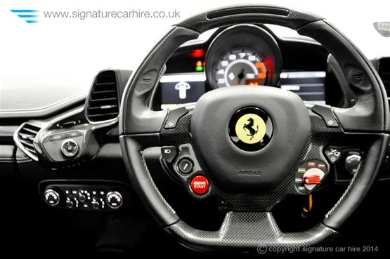 Ferrari 458 Italia Coupe Steering Wheel