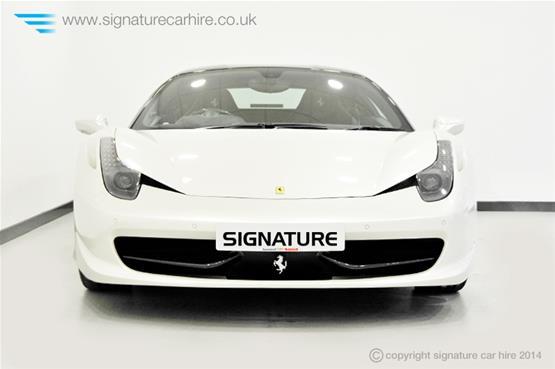 Ferrari 458 Italia Coupe Front View