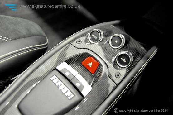 Ferrari 458 Italia Dashboard Controls