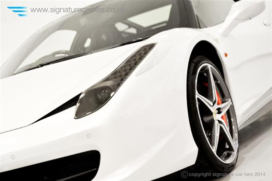 Ferrari 458 Italia Coupe  Headlight