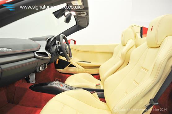 Ferrari 458 Spider Driver & Passenger Seat