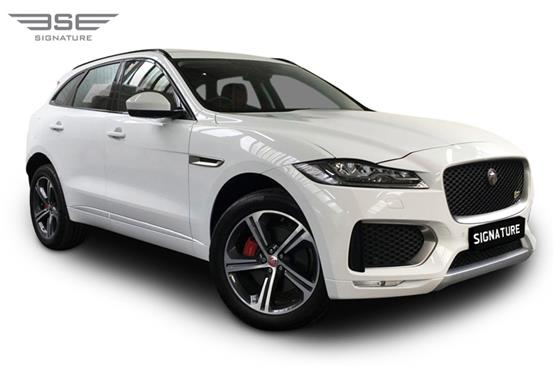 Jaguar F Pace S Right Front View