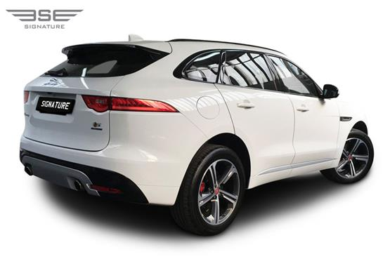 Jaguar F Pace S Rear Right View