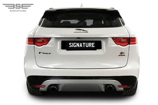 Jaguar F Pace S Rear View