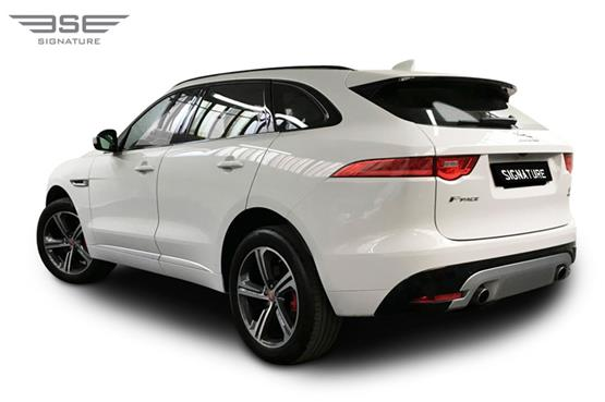 Jaguar F Pace S Left Rear View