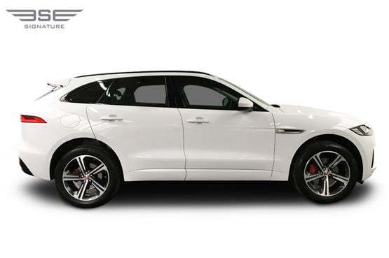 Jaguar F Pace S Right View