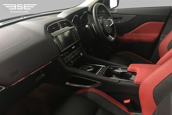 Jaguar F Pace S Front Seats