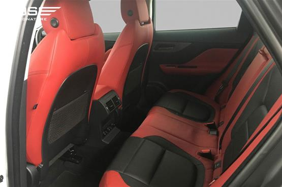 Jaguar F Pace S Rear Seats