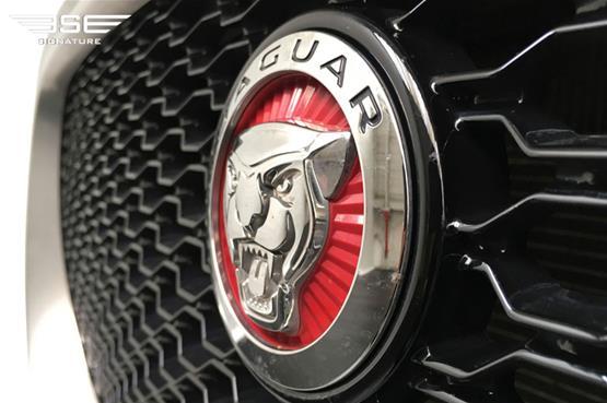Jaguar F Pace S Rear Grill