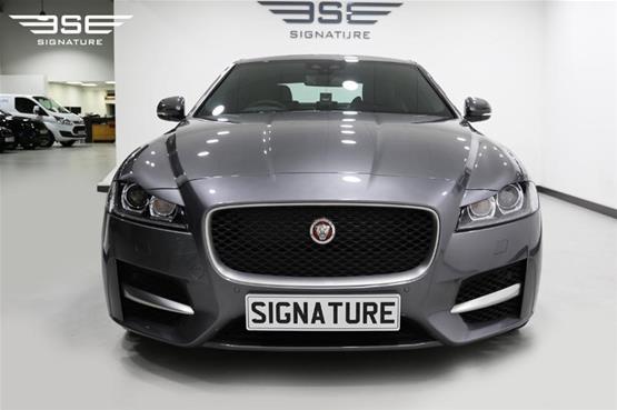 Front View of Jaguar XF Car
