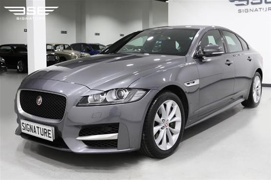 Jaguar XF Front Left View