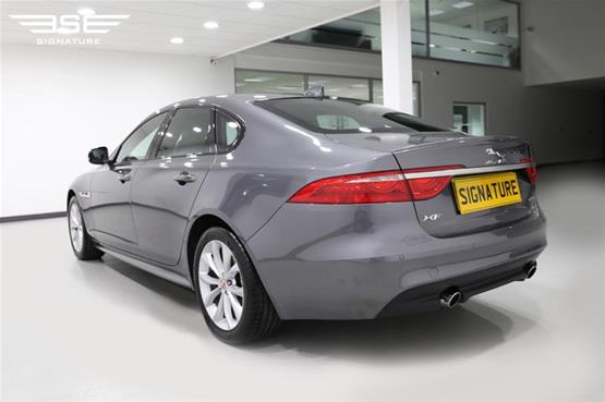 Jaguar XF Rear Left View