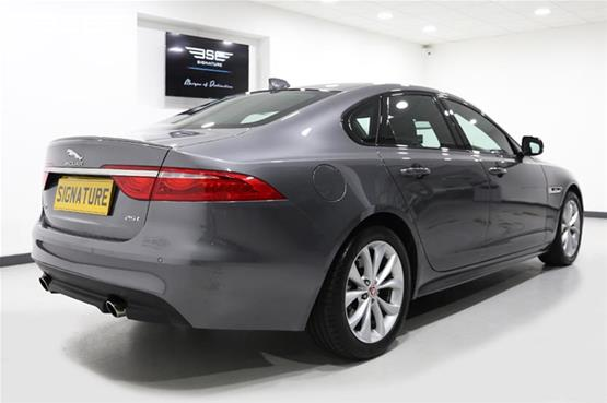 Jaguar XF Rear Right View