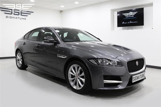 Jaguar XF Front Right View