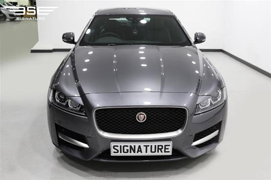Jaguar XF Top Front View