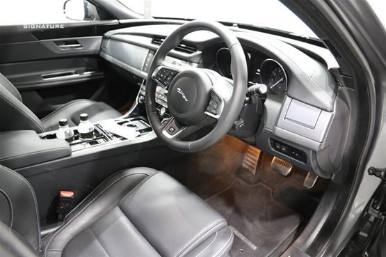 Jaguar XF Driver Seat View