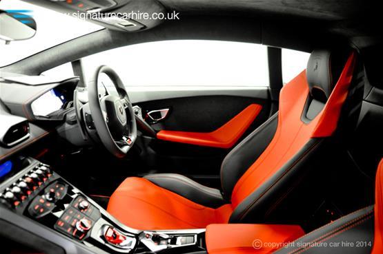 Lamborghini Huracan LP 610-4 Interior