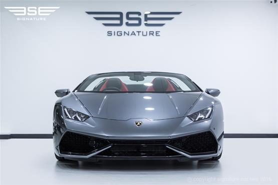 Lamborghini Huracan Spyder in Experience Centre