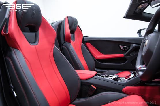 Lamborghini Huracan Spyder Driver Seat View