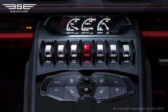 Lamborghini Huracan Spyder Dashboard Switches