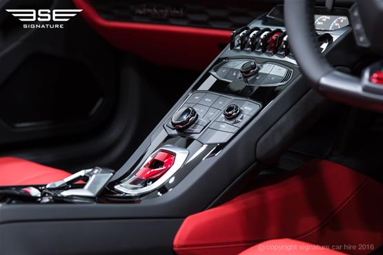 Lamborghini Huracan Spyder Centre Console