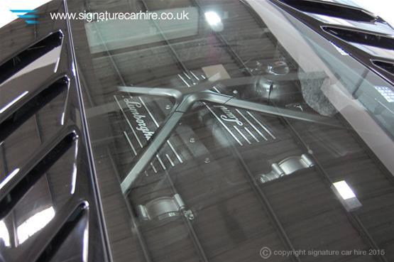 Lamborghini Huracan LP 610-4 Engine Glass Cover