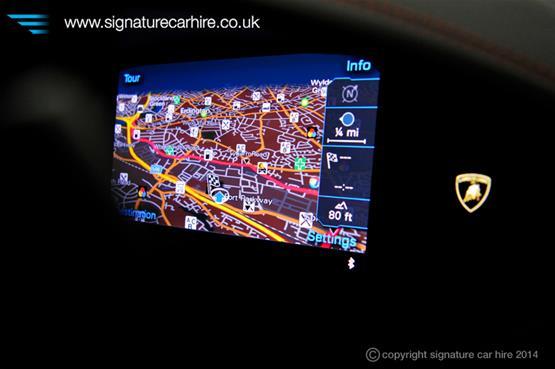 Lamborghini Huracan LP 610-4 Navigation System