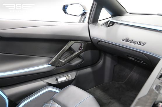 Lamborghini Aventador S Roadster Passenger View