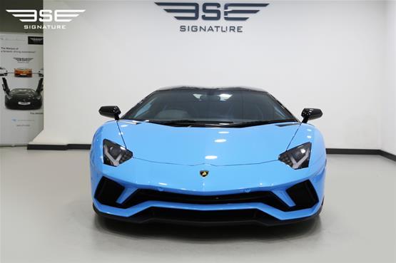 Lamborghini Aventador S Roadster Front View