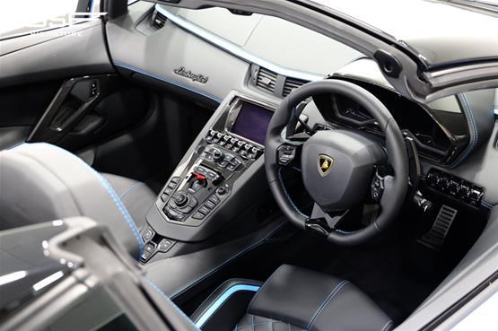 Lamborghini Aventador S Roadster Dashboard