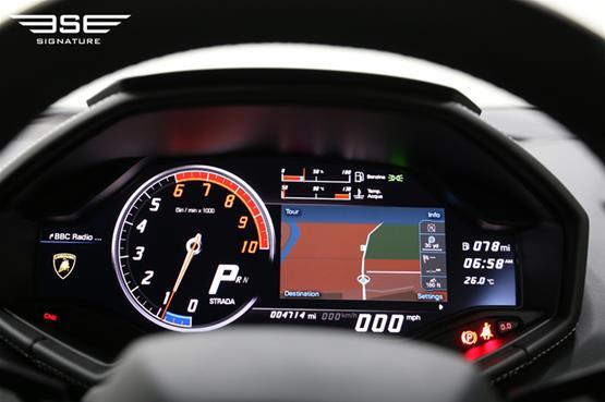 Lamborghini Huracan Avio Speedometer
