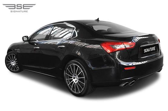 Maserati Ghibli Left Rear View