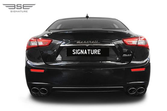 Maserati Ghibli Rear View