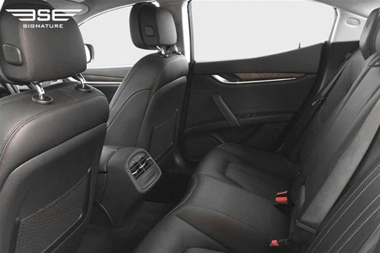 Maserati Ghibli Rear Seats