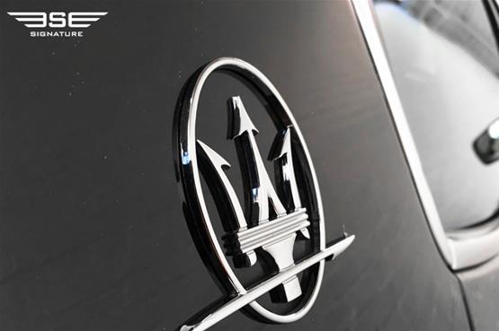 Maserati Ghibli Logo