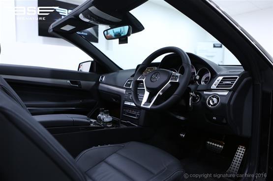 Mercedes Benz E220 AMG Cabriolet Driver Seat