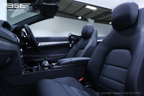 Mercedes Benz E220 AMG Cabriolet Leather Seats