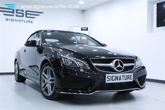 Mercedes Benz E220 AMG Cabriolet in Experience Centre