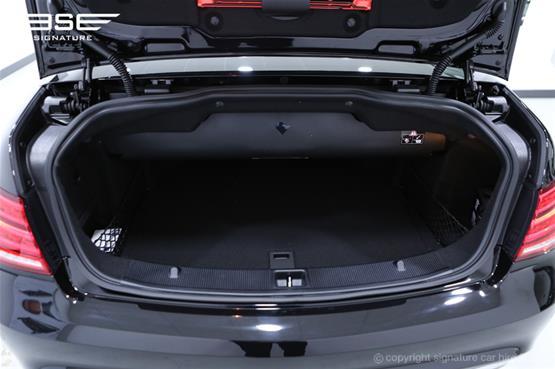 Mercedes Benz E220 AMG Cabriolet Boot Space