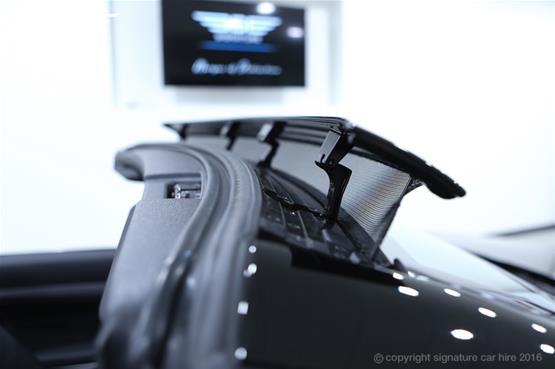 Mercedes Benz E220 AMG Cabriolet Roof Holder