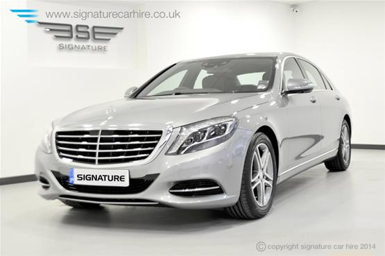 Mercedes New S Class S350 BlueTEC L front-side-view