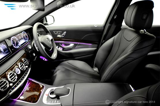 Mercedes New S Class S350 BlueTEC L interior