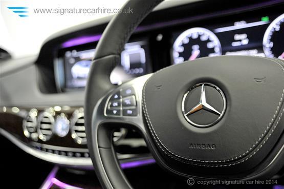 Mercedes New S Class S350 BlueTEC L airbag