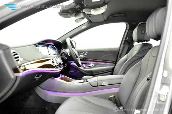 Mercedes New S Class S350 BlueTEC L leather-seats